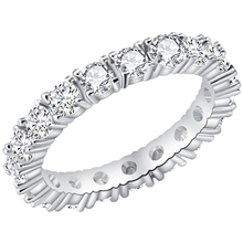 New Fashion Silver Color Zircon Rings For Women High Quality