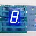 """5 шт. 7-сегментный 1 """"СВЕТОДИОДНЫЙ Дисплей 1 дюйма 1 Цифровой 1-Character Синий СВЕТОДИОДНЫЙ Дисплей 7 Сегментов СВЕТОДИОДНЫЙ Дисплей Трубки модуль Общий Катод"""
