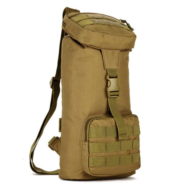 Top Quality Homens de Nylon 1000D Sling Messenger Bag Ombro Militar Assualt Molle Assalto Única Mochila de Viagem Pacote de Peito de Volta