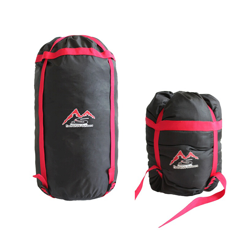 Image 2 - Practical Outdoor Camp Sleeping Bag Storage Pack Carry Bag Oxford Cloth Compression Stuff Sack Waterproof-in Sleeping Bags from Sports & Entertainment