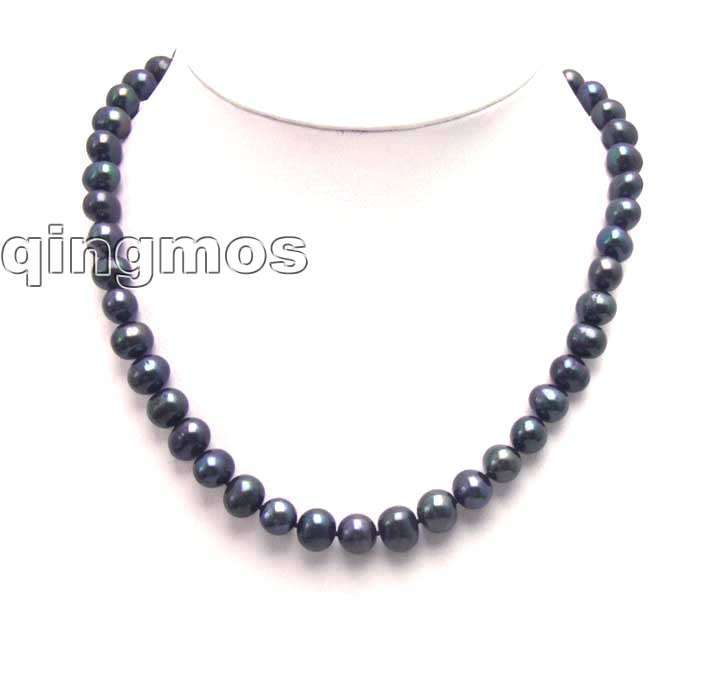 SALE High quality Super luster AA Big 11-12mm Round natural Freshwater Black pearl 17 necklace-nec5434 Free shippingSALE High quality Super luster AA Big 11-12mm Round natural Freshwater Black pearl 17 necklace-nec5434 Free shipping