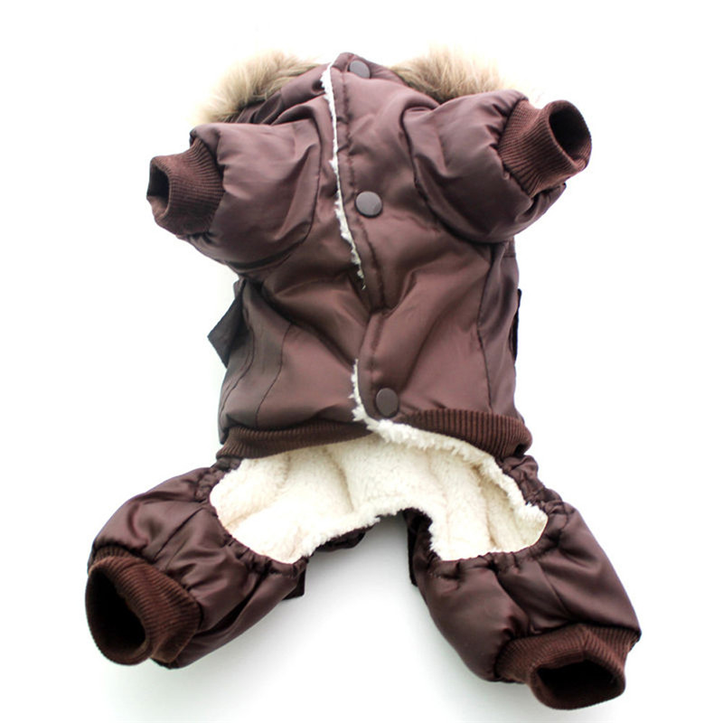 High Qulaity Dog Puppy Winter Jacket Coat USA LUFTFORCE - Pet produkter - Foto 5