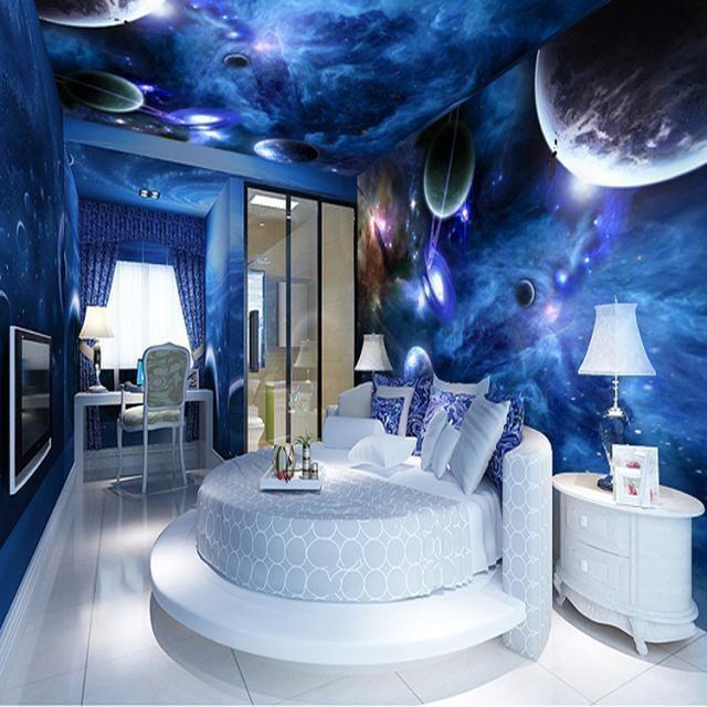 Freies Verschiffen großes schlafzimmer wand decke frescoed decken ...