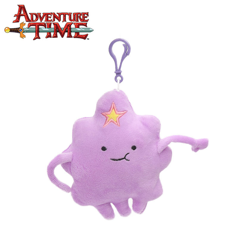 15 см фиолетовый комок пространство Принцесса плюшевый брелок Adventure Time игрушка облака мягкие плюшевые чучело Куклы Игрушечные лошадки вечер...