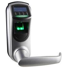 L7000 Digital Fingerprint Lock OLED diaplay Emergency battery for backup supports Fingerprint+ Password