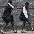 2017 o projeto Original preto de malha grande saco de outono bolsa das mulheres bolsa de moda saco clássico bolsa de ombro senhoras sacola grande