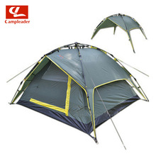 Outdoor lazy quick tent camping tent double open automatic tent rain riot waterproof hiking tent