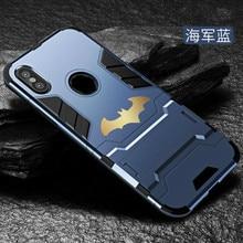 Luxury Batman case for iphone 6 6s 7 8 plus Coque Protective PC Hard Phone Case For iPhone X 5S SE 6S Plus Cover