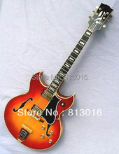 TOP quality China guitars factory Barney jazz hollow body Kessel electric guitar+gold hardware+do OEM guitar !FREE SHIPPING!