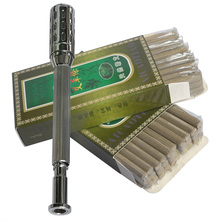 Free shipping! Songlonw natural Chinese mugwort smoke moxa roll moxibustion stick 7x118mm 30pieces/pack 2pack/lot Good quality