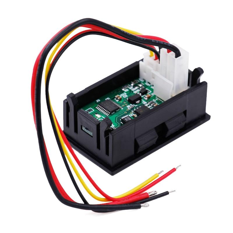 7w1 Wielofunkcyjny tester OLED Prąd napięciowy Czas Temperatura - Przyrządy pomiarowe - Zdjęcie 4