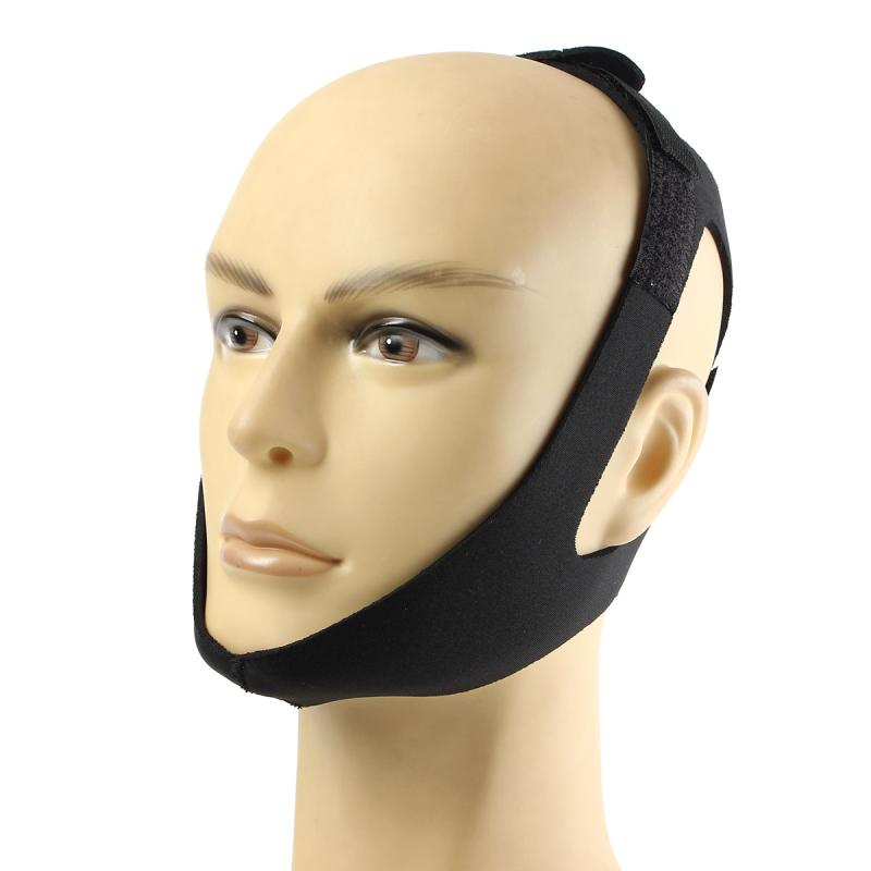 1pcs Anti Snore Belt Stop Snoring Chin Strap Anti Apnea