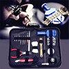 19pcs Watch Repair Tool Kit Set Watch Case Opener Link Spring Bar Remover Screwdriver Tweezer Watchmaker
