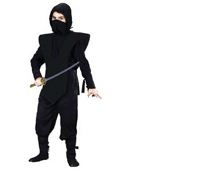 High quality Halloween cosplay clothes black child Ninja Costumes for kids Halloween Party decorations Child performance wear-in Boys Costumes from Novelty ...  sc 1 st  AliExpress.com & High quality Halloween cosplay clothes black child Ninja Costumes ...