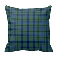 Tall Keith Tartan Plaid Pillow Case (Size: 45x45cm) Free Shipping