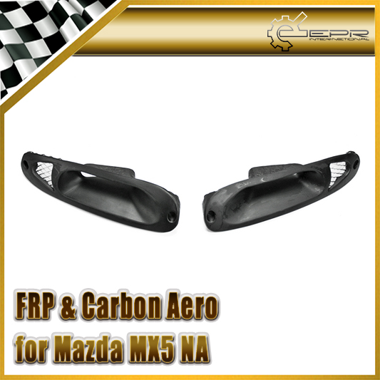 Car-styling For Mazda MX5 NA 1989-1997 FRP Fiber Glass Front Turn Singal Indicator Air Intake Type A frp fiber glass car styling hood bonnet lip chin valance fin add on tuning parts for nissan skyline r32 gtr gts