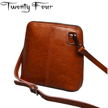 Twenty four Luxury Designer Genuine Leather Female Shoulder Bags Casual Style Shell Bags With Solid Handbags