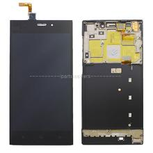100% Original WCDMA LCD Display+Touch Screen Digitizer Glass Assembly with Frame For Xiaomi mi3 xiaomi m3 +Tools+Tempered Glass