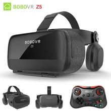 Оригинальная гарнитура BOBOVR Z5 Immersion виртуальной реальности стерео 3D очки VR картонный шлем 120 FOV для 4,7-6,2 'смартфона
