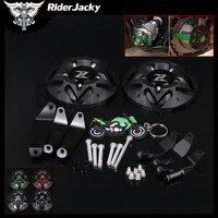 RiderJacky NEW Design Motorcycle Engine Guard Protector Case Frame Slider Cover Protector Set For KAWASAKI Z900 Z 900 2017 2018