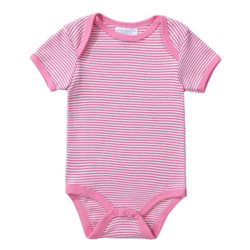 2018 Newly Baby Bodysuits 100% Cotton Infant Body Short Sleeve Clothing Jumpsuit Cartoon Animal Printed Baby Boy Girl Bodysuits (6)