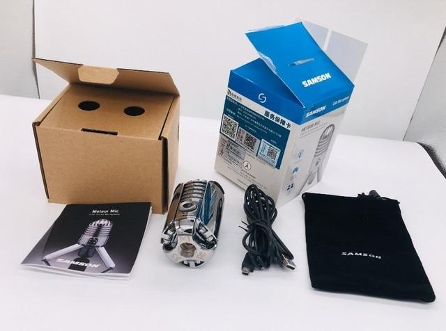 Купить 100% оригинальный конденсаторный микрофон samson meteor usb картинки