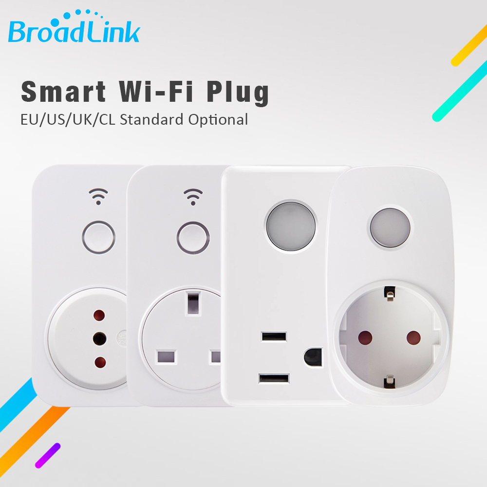 Broadlink SP3 SP2 EU US UK CL Mini Night Light Wifi Socket Plug Outlet Smart Remote Wireless Controls For Smart Phone