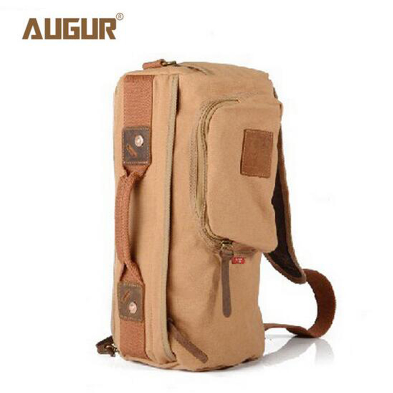 AUGUR New Men Messenger Bags Casual Multifunction Travel Bags High Quality Canvas Shoulder Crossbody Bags PD0230 new vintage men messenger bags casual multifunction small flap travel bags canvas shoulder crossbody black bags hot sale