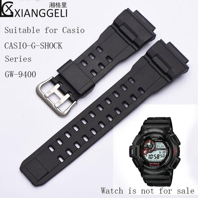 b72b800529fe Accesorios de reloj correa de silicona de goma deportiva para Casio 28mm  CASIO-G-