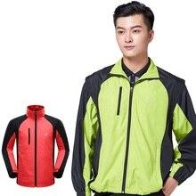 Мужская Съемная куртка для гольфа весна осень Мужская ветрозащитная ветровка для гольфа спортивная одежда с длинными рукавами пальто Топы D0668