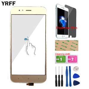 Image 5 - Touch Screen Panel For Xiaomi Mi A1 MiA1 MDG2 Touch Screen Digitizer Panel Front Glass 5.5 Mobile Protector Film Adhesive