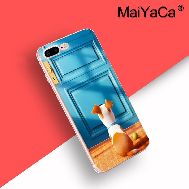 MaiYaCa On Sale Luxury Cool Phone Case Accessories Case For iPhone 7 plus Case Cute Pugs Not Drugs dogs