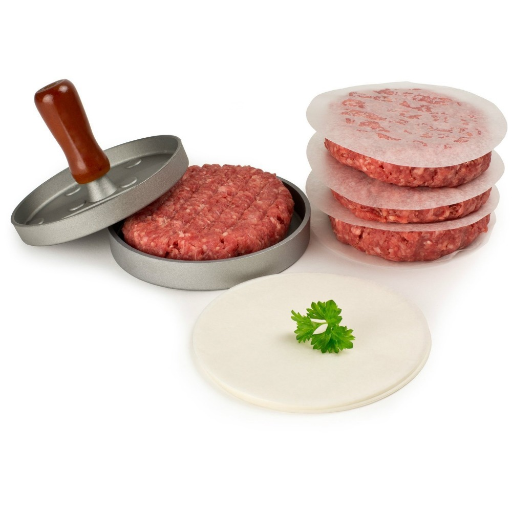 Realand Aluminum Burger Press Hamburger Maker Non Stick