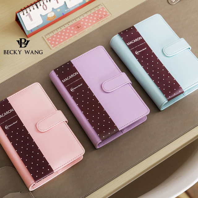 Aliexpress.Com : Buy Bw Macaron Notebook Kawaii Agenda Notebook