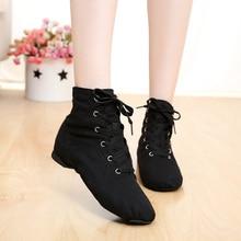 Дешевые Новые мужские женские спортивные танцевальные кроссовки Джаз танцевальная обувь на шнуровке танцевальные сапоги синие красные черные светло-зеленые белые кроссовки