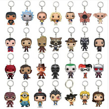 2018 New  Toys Keychain Captain America Iron Man Groot Key Ring Kids W