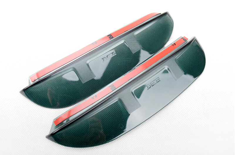 Side Door Rearview Mirror Sun Rain Guard Deflector Cover
