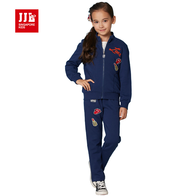 girls suit kids clothes 2016 brand children clothing set ...