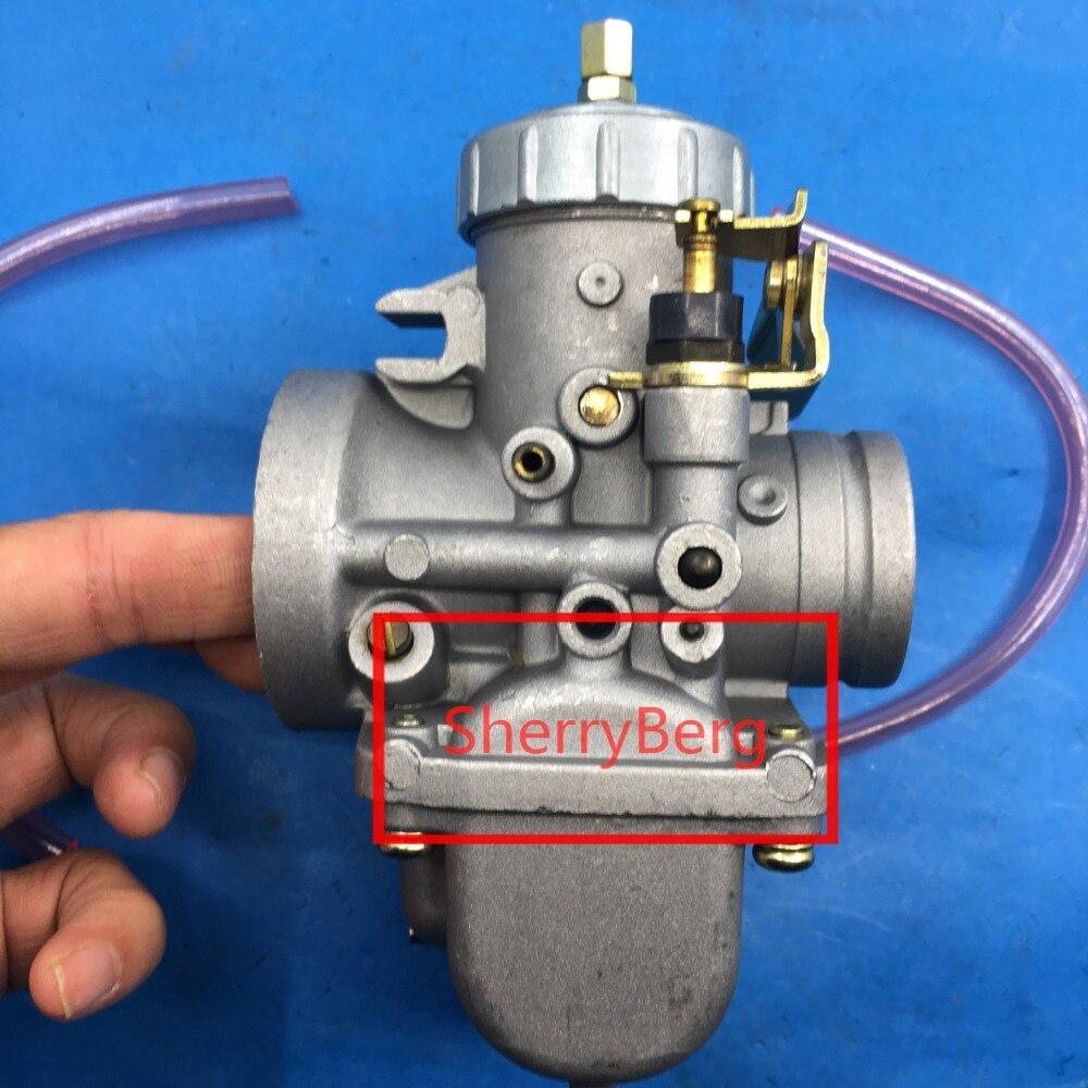 Nuovo carb (coppy Mikuni 34 MM) vm series rotonda presentazione motoslitta carburatore | vm34 fit yamaha 350 atv e pz34j buona qualità