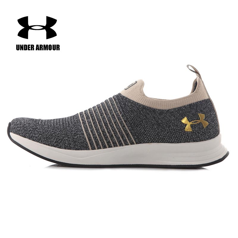 Under Armour UA Men Knitted Running Walking Shoes Zapatillas Hombre Deportiva Men Light Athletic breathable Sneakers new arrival fingerband under armour 1242653 ua braid mini