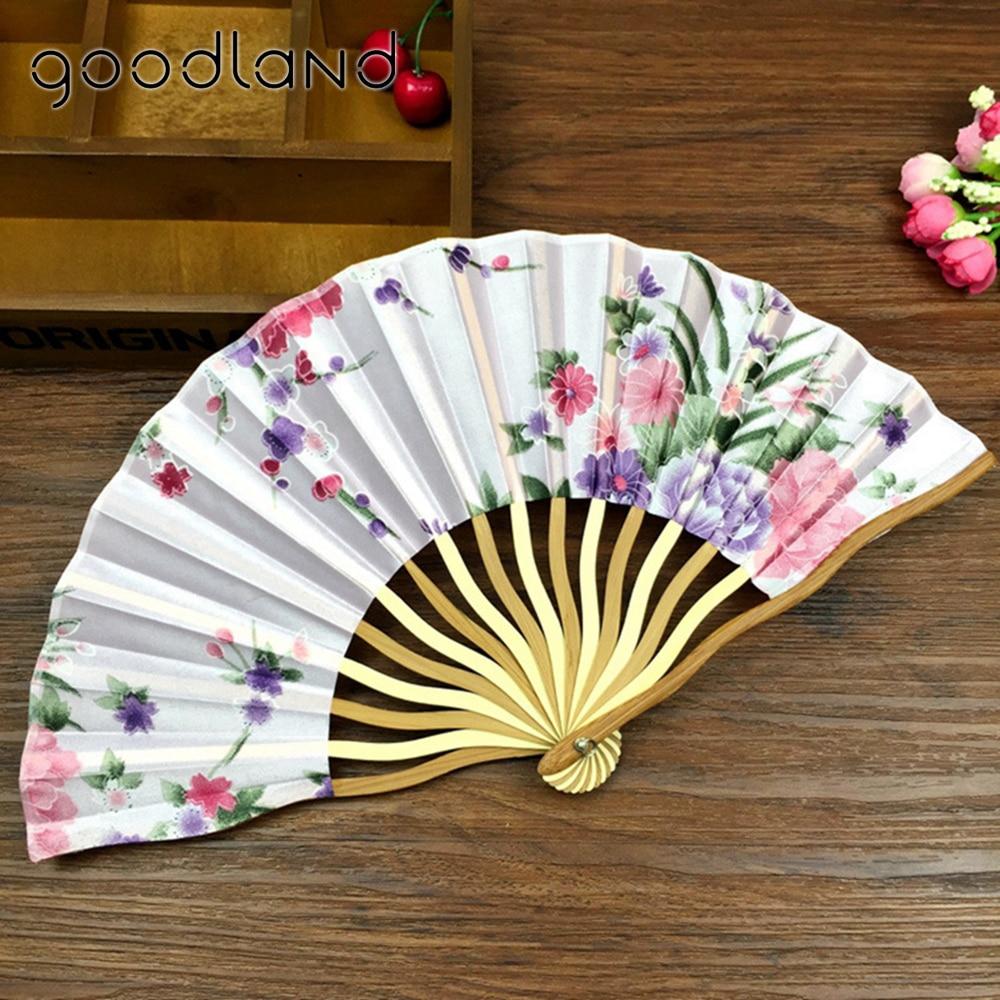 Envío gratis Venta al por mayor 50 piezas de flor de ciruelo bolsillo Fans con borla regalo japonés chino ventilador plegable invitaciones de boda-in Ventiladores decorativos from Hogar y Mascotas    3