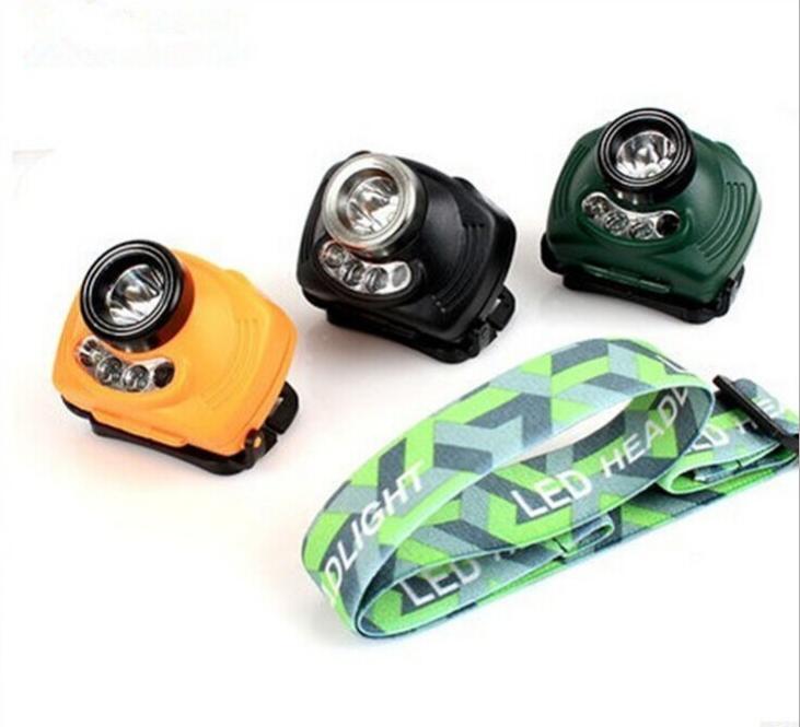 Mini Headlamp 2000 Lumens LED Waterproof AAA Headlight Red Head Lamp 3 Mode Light warning Flashlight lights for 3*AAA Battery кольцо opk 316l aaa 3 gj447