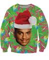 Мода Одежда Carlton Swetshirt Fresh Prince of Bel-Air Рождественский дизайн Альфонсо Рибейро Crewneck Перемычка Женщины/Мужчины