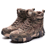 2016 Winter Wool High Desert Camouflage Bots Army Boots And Boots Of Desert Hiking