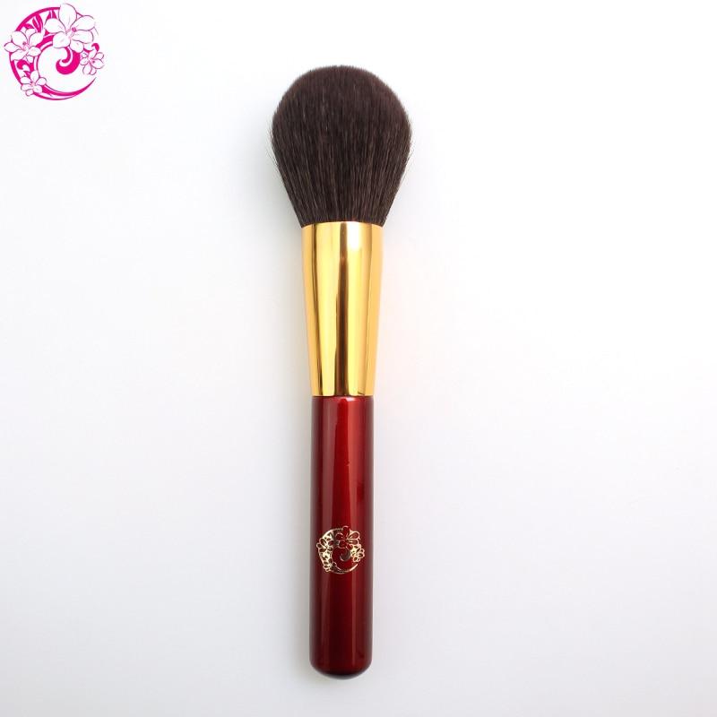 Marque De L'ÉNERGIE Professionnel Pinceau Poudre De Chèvre Cheveux Maquillage Maquillage Brosses Pinceaux Maquillage Brochas Maquillaje Pincel L215