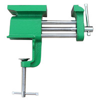 New Fashion Arrival Aluminum Miniature Small Jewelers Hobby Clamp On Table Bench Vise Mini Tool For Everyone