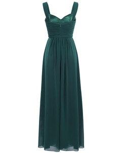 Image 5 - ผู้หญิงจีบชุดเจ้าสาว Elegant Ruched เอวสูงยาวงานแต่งงานอย่างเป็นทางการชุดสำหรับ 2020 Vestido ชุดเจ้าสาว