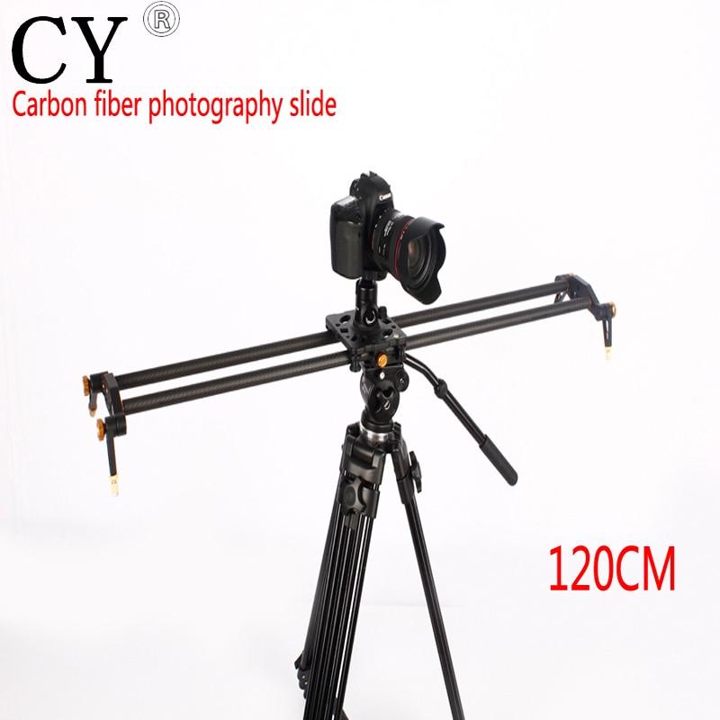Inno Pro 120 cm 6 Lager Pro Kohlefaser DSLR Kamera DV Slider Track Video Stabilizer Gleis Schieber Für DSLR oder Camcorder
