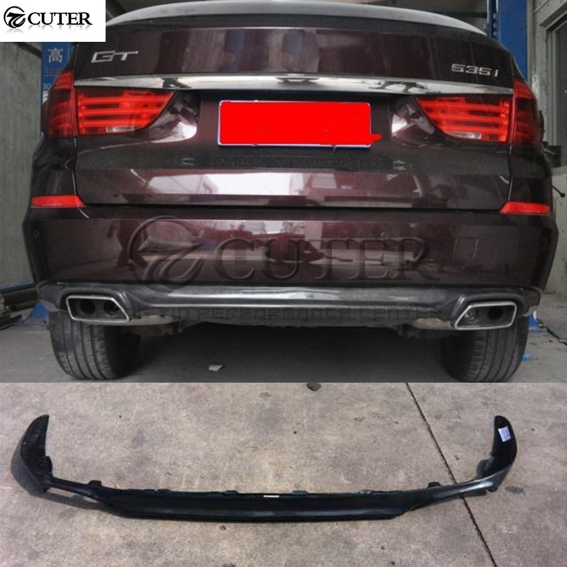 <font><b>F07</b></font> 5 series 535i <font><b>GT</b></font> Carbon Fiber rear lip Back <font><b>Bumper</b></font> Spoiler Diffuser For <font><b>BMW</b></font> <font><b>F07</b></font> body kit 14-18 image