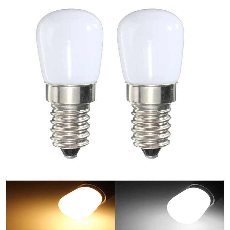 10pcs Mini Refrigerator Light E14 LED Lamp 2W 3W 4W 5W 6W 8W COB Glass Dimmable AC220V Spotlight Bulbs Freezer Fridge Chandelier